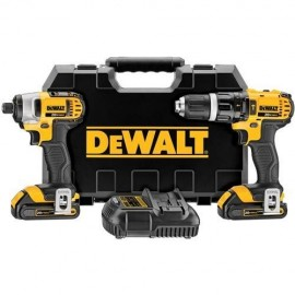 DEWALT-DCK285C2 Δραπανοκατσάβιδο κρουστικό 18V Li-on