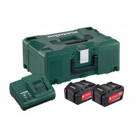 Σετ Φόρτισης 2 x 4.0 Ah 2x μπαταρίες 4.0 Ah 1x φορτιστής ASC 30–36 V