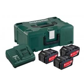 Σετ Φόρτισης 3 x 5.2 Ah 3x μπαταρίες 5.2 Ah 1x φορτιστής ASC 30–36 V
