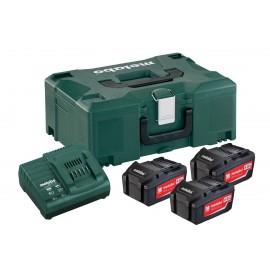 Σετ Φόρτισης 3 x 4.0 Ah 3x μπαταρίες 4.0 Ah 1x φορτιστής ASC 30–36 V