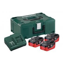 Σετ Φόρτισης 3 x Lihd 5.5 Ah 3x μπαταρίες Lihd 5.5 Ah 1x φορτιστής ASC 30–36 V