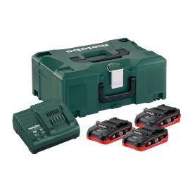 Σετ Φόρτισης 3 x Lihd 3.1 Ah &1x φορτιστής ASC 30–36 V