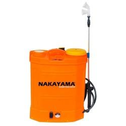 Επαναφορτιζόμενος ψεκαστήρας πλάτης 16lt NAKAYAMA NS1612