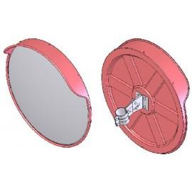 Καθρέπτης Ασφαλείας με διάμετρο 80cm